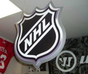 Вывеска для хоккейного клуба