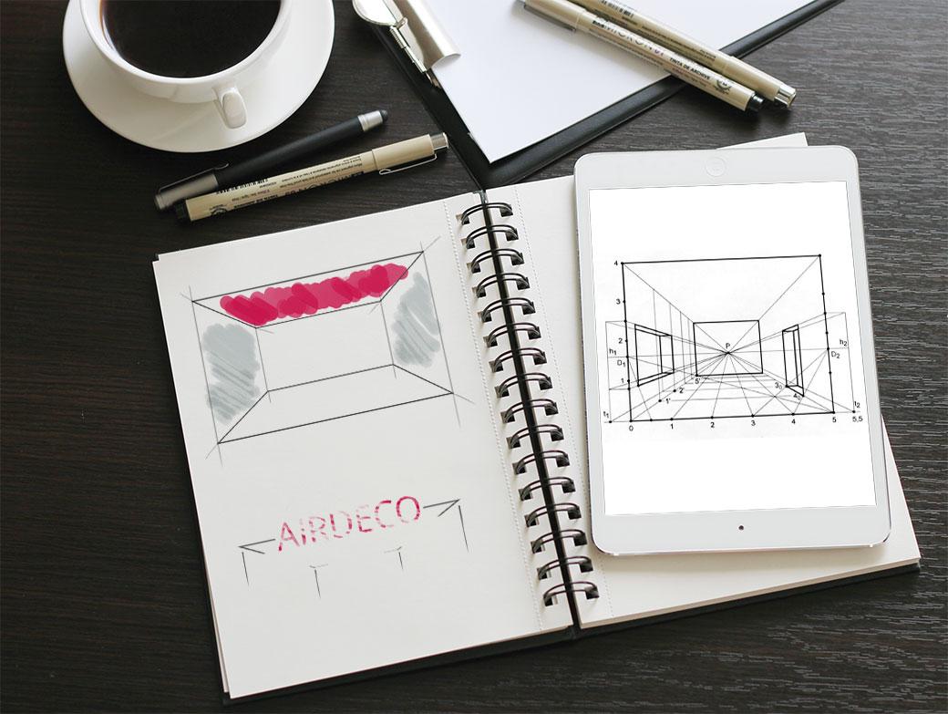 Создание логотипа AIRDECO